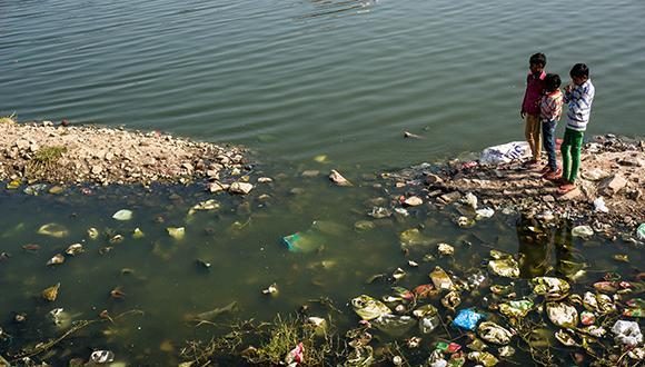 open dump in india