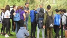 Educational Tour with junior high Ort Singalovski - HaYarkon-Park